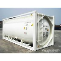 Buy cheap 20FT TANK CONTAINER FOR BULK CEMENT  for sale Portable iso Tank Container  WhatsApp:8615271357675  Skype:tomsongking from wholesalers