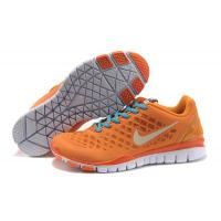Buy cheap Orange ladylike newstyle Mesh + PU  casual Ladies Athletic Shoes and  boots apparel from wholesalers