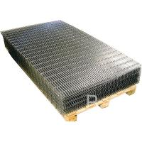 Buy cheap Black Iron Welded Wire Mesh Panels Square Grid For Building / Agricultural / Industrial from wholesalers
