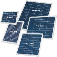 Buy cheap 30 Watt Silicon Solar Panels High Efficiency For Solar Street Light Motion from wholesalers