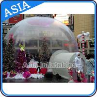 Buy cheap Christmas Inflatable Snow Globe / Giant Inflatable Snow Globe from wholesalers