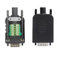 Buy cheap DB9 Male / Female with box terminal block adapter from wholesalers