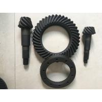 Buy cheap High Rigidity Crown Wheel And Pinion Gear , Spiral Differential Ring Gear from wholesalers