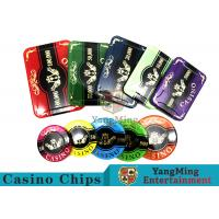 Buy cheap 760pcs Acrylic Premium Bronzing Casino Poker Chip Set For Entertainment from wholesalers