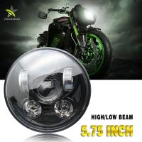Buy cheap 50000 Hours 5.75 Inch Headlight , 5.75 Inch Led Headlight For Harley Motor from wholesalers
