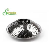 Buy cheap SS430 Collapsible Stainless Steel Steamer Basket Non Scratch For Food Cooking from wholesalers