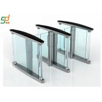 Buy cheap Glass Wing Barrier Automatic Turnstiles Controlled Access Servo Driver from wholesalers
