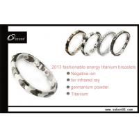 Buy cheap Far Infrared Health Custom Size 316L Stainless Steel Jewelry with Titanium Color from wholesalers
