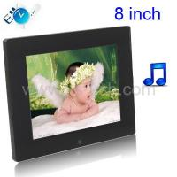 Buy cheap 8 inch Digital Picture Frame with Remote Control Support SD / MMC / MS Card and USB from wholesalers