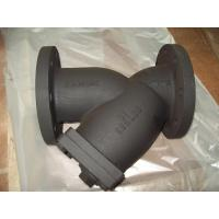 Buy cheap Ductile iron / Cast iron ANSI B16.10 DN50 - DN400 mm 125lbs - 150lbs ANSI Y-Strainer from wholesalers