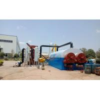 Buy cheap What is fuel oil application of continuous fully automatic waste tyre pyrolysis plant? from wholesalers