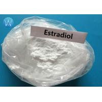 Buy cheap White Estradiol Anabolic Steroid Hormone Powder Estradiol CAS 50-28-2 product