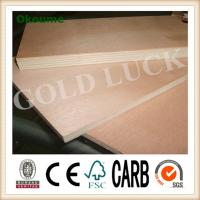 Buy cheap Qingdao Gold Luck 1220x2440mm Poplar Core Okoume Faced Plywood from wholesalers