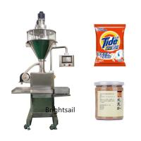 Buy cheap Semi Automatic Filling Packing Machine Detergent Powder Packaging Customized Voltage from wholesalers