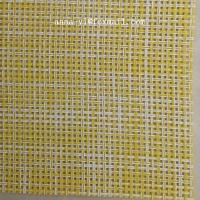 Buy cheap 2X2 Woven mesh fabri textilene cloth for wall paper or floor mat from wholesalers