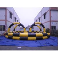 Buy cheap Hot Inflatable Race Track, zorb rolling race track from wholesalers