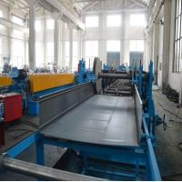 Buy cheap 5 Ton Hydraulic Decoiler Cable Tray Roll Forming Equipment With Servo Feeding from wholesalers