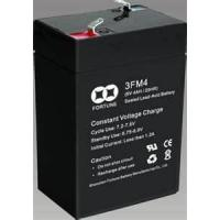 Buy cheap small size rechargeable sealed lead acid batteries 3FM4.2(6V 4.2AH/20HR)  from wholesalers