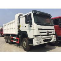Buy cheap 20-30 Tons 6 Cylinders White Sinotruk Howo 6x4 Tipper Truck 18m3 Bucket from wholesalers