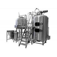 Buy cheap 500L Brewing Equipment Stainless Steel Fermentation Tank Steam Jacket Brew Kettle from wholesalers