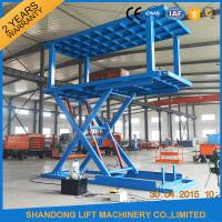 Buy cheap hydraulic personal lifts for home use vertical parking stair lift platform 2 desk car lift from wholesalers