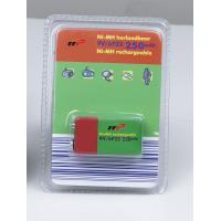 Buy cheap 9V 250mAh NIMH Rechargeable Batteries Blister Package CE UL from wholesalers