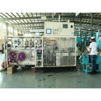 Sanitary Pad Machine / Full servo sanitary napkin bag making on line 60 bags/min Speed