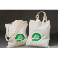 Buy cheap Custom Logo Printed TC Plain Cotton Carrier Bags / Cotton Tote Bags For Shopping and Packaging from wholesalers