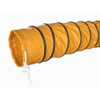 Buy cheap Round PVC waterproof Ventilation tube / air duct Oil and Acid Resistant from wholesalers