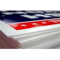 Buy cheap Customized Coroplast Corrugated Plastic Sheets For Signs from wholesalers