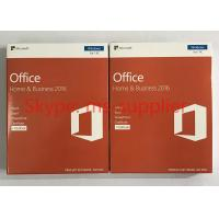 Buy cheap Microsoft Office Home and Business For Mac 2016 Full Version DVD / CD Media Wndows Retail Box Online Activation from wholesalers