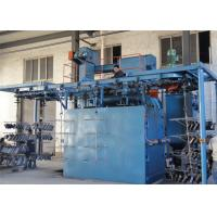 Buy cheap Overhead Chain Continuous Hanger Type Shot Blasting Machine For Heat Treated Forgings from wholesalers