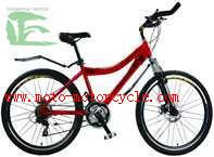 Buy cheap 26 Lightweight Mountain Bike Full Suspension , Womens Mountain Bikes from wholesalers
