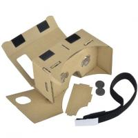 Buy cheap 3D VR Virtual Reality Headset 3D Movie Game Glasses Adjust Cardboard VR BOX 2 . 0 from wholesalers