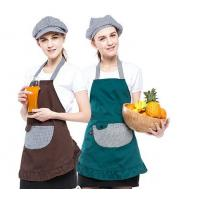 Buy cheap Multi - Color Convenient Fancy Cooking Aprons Popular Style With 2-3 Big Pockets from wholesalers