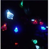 Buy cheap Colorful Solar LED String light Decoration Light 6 meters long 30pcs LED Diamond Lamps from wholesalers