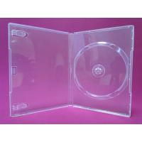 Buy cheap 14mm standard DVD Case, Clear, Black from wholesalers