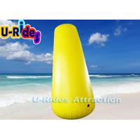 Buy cheap Cylindrical Inflatable Marker Buoys , Swim Area Buoy CE Certification from wholesalers