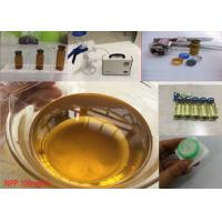 Buy cheap Muscle Building Injectable Anabolic Steroids Oil Nandrolone phenylpropionate / NPP 100 from wholesalers
