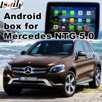 Buy cheap Android GPS navigation box interface for mercedes-benz NTG5.0 with rear view WiFi mirror link cast screen from Wholesalers