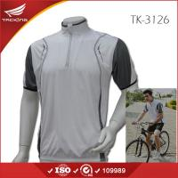 Buy cheap USA market Summer men short sleeve plain cycling jersey from wholesalers