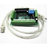 Buy cheap 5 Axis Mach3 CNC Stepper Motor Driver Adapter Interface Breakout Board with USB Cable from wholesalers