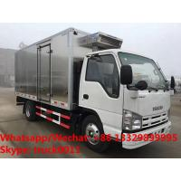 Buy cheap 2020s high quality ISUZU 100P diesel stainless steel refrigerated truck for sale, Japan cold room truck for fresh fruits from wholesalers