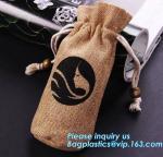 Buy cheap Custom cheap wedding favor gift packaging drawstring burlap jute pouch bag,drawstring jute bag burlap shopping bag new s from wholesalers