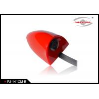 Buy cheap DC 12V Universal Side Car Parking Side View Camera Wide Angle 3G1P Lens Red Color from wholesalers