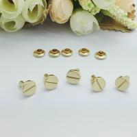 Buy cheap Direct Custom Metal Rivet Buttons , Decorative Zinc Alloy Jean Buttons And Rivets from wholesalers