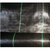 Buy cheap Anti-grass Cloth Weed Mat With Black Color PP Woven Geotextile from wholesalers