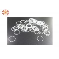 Buy cheap White Silicone O Rings Oil Resistance For Home Appliance Rohs from wholesalers