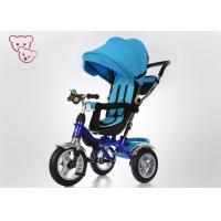 Buy cheap Sunshade Canopy Metal 4 In 1 Baby Tricycle Bike Push And Ride Rotating Seat from wholesalers