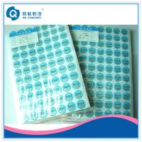 Buy cheap Tamper Resistant Scratch Off Stickers from wholesalers
